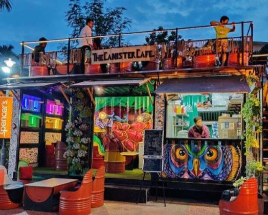Canister Cafe, Best Kolkata Cafe